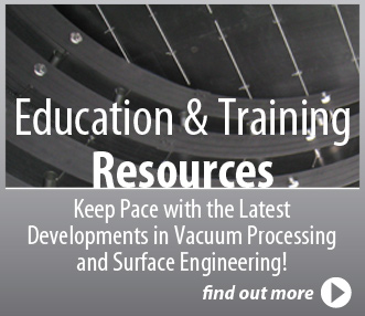 vacuum technology education and training
