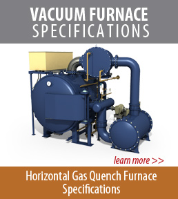 horizontal vacuum furnace specifications
