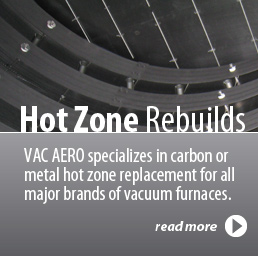 Vacuum Furnace Zone Rebuilds