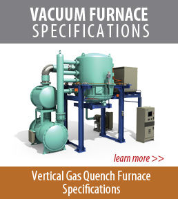 Vertical vacuum furnace specifications