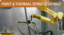 Thermal Spray Coating services, Plasma and High Velocity Oxy-fuel (HVOF) Spray Coatings and Inorganic Paint and Pack Coatings