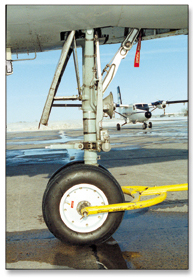 Then new HVOF process protects aircraft landing gear from wear and corrosionThe new HVOF process protects aircraft landing gear from wear and corrosion.