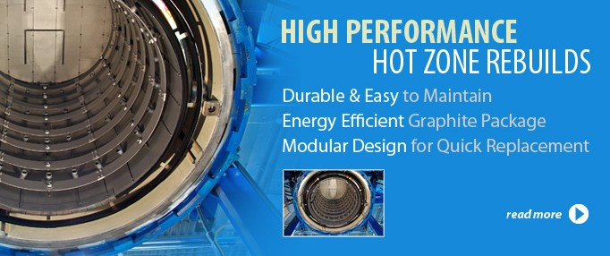 vacuum furnace hot zone rebuilds